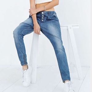 {One Tea Spoon} for UO Super Tough Denim Joggers